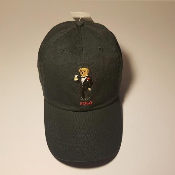 2dfdcfdbe9c Polo Ralph Lauren Martini Bear Strapback Hat